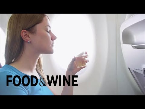 wine article Why Rose Is The Best Wine To Drink On A Flight  Food News  Food  Wine