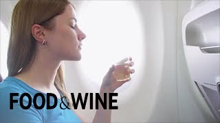 Why Rosé Is the Best Wine to Drink on a Flight | Food News | Food & Wine