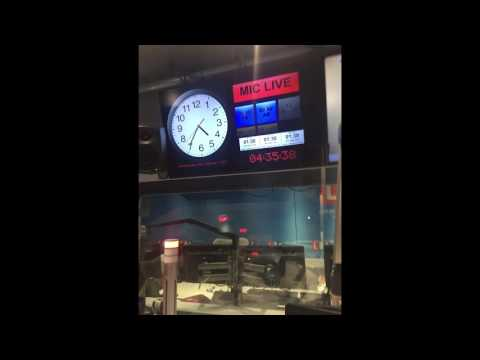 Steve Allen, his LBC clock and what he does during ad breaks on LBC
