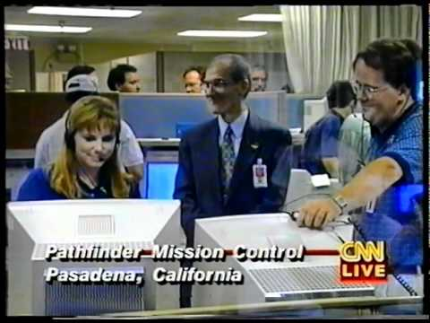 Mars Pathfinder mission - LIVE coverage - 1997 - part 1