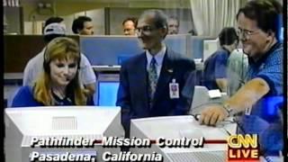 Mars Pathfinder mission - LIVE coverage - 1997 - part 1