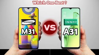Oppo A31 VS Samsung Galaxy M31