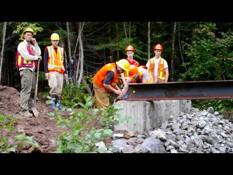 Maritime College of Forest Technology - Forest Roads 02