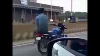 BIKE STUNTS!!! Indian Bike Stunt