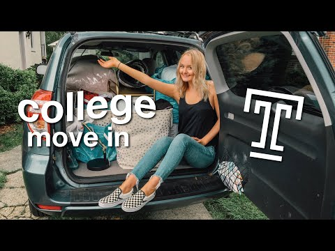 COLLEGE MOVE IN VLOG 2018 | Temple University