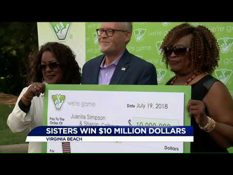Virginia Beach Sisters Are $10 Million Richer After Winning The Lottery