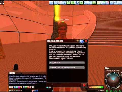 Opa spielt Entropia Universe 037 - Strandschönheit Jennifer Quinn