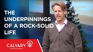 The Underpinnings of a Rock-Solid Life  - 1 Peter 1:2