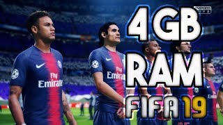FIFA 19 on 4GB RAM (30 FPS) ⚽ Finally Tested This Lovely Game ♥
