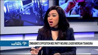 Video Zimbabwe mourns former Prime Minister Morgan Tsvangirai download MP3, 3GP, MP4, WEBM, AVI, FLV Oktober 2018