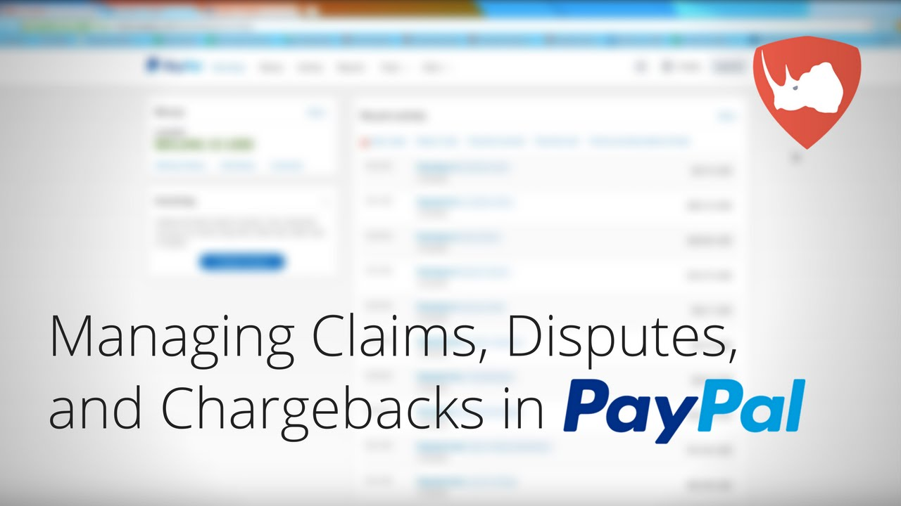 Paypal claims