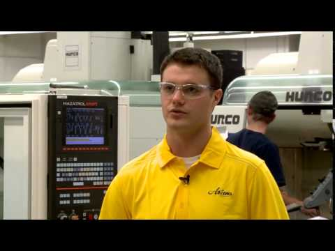 Machine Tool Training at Fox Valley Technical College