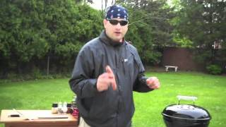 Cooking On the Weber Smokey Joe With Badger Pete: Episode 1