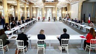 Nouveau gouvernement : premier conseil des ministres post remaniement en France