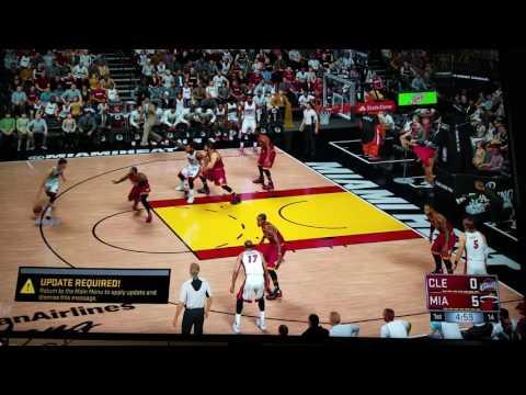 NBA 2K17 PS4Pro on LG UH657700 HDR