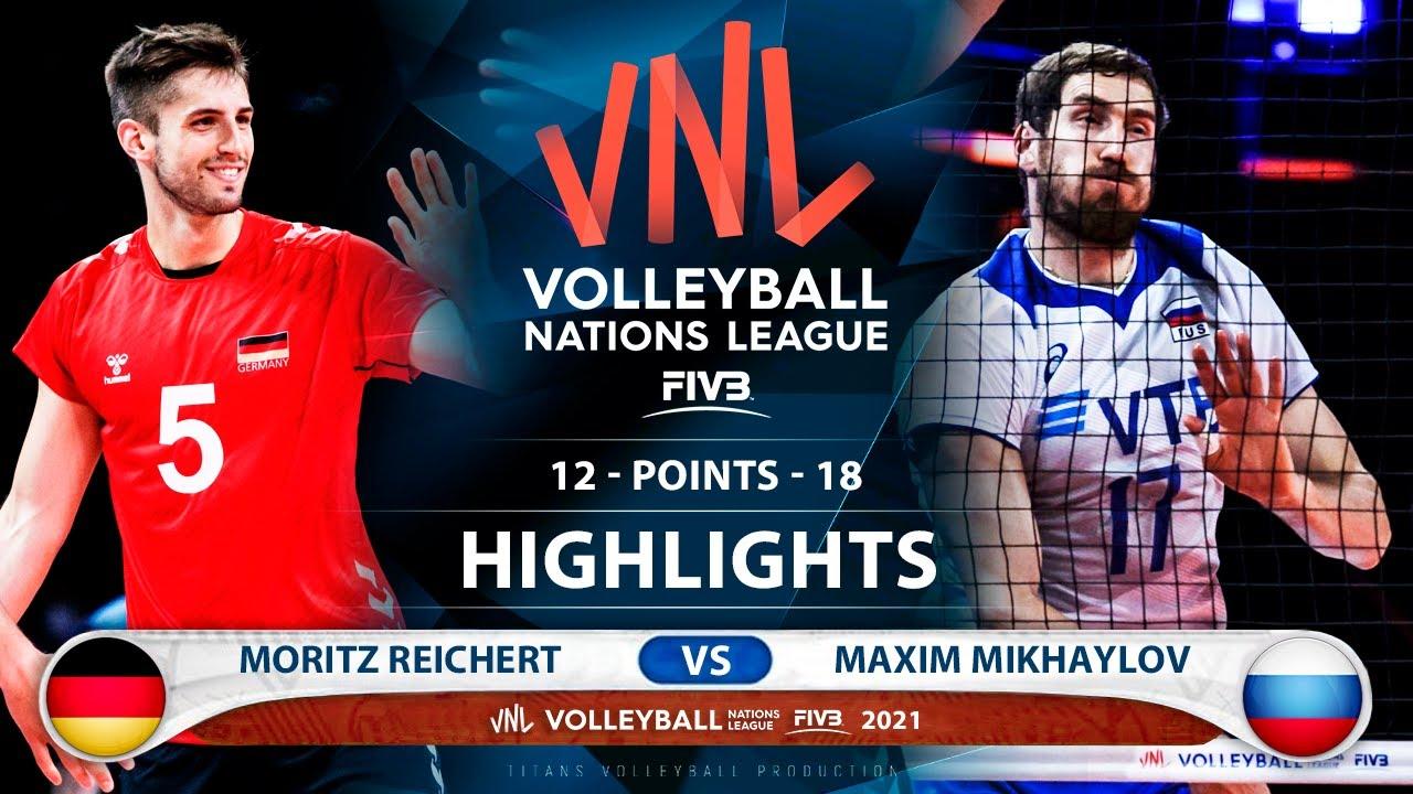 Download Germany vs Russia   VNL 2021   Highlights   Mortiz Reichert vs Maxim Mikhaylov