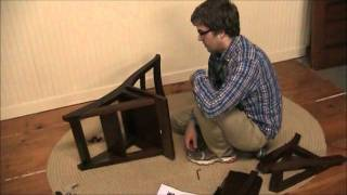 How To Assemble A Library Chair | Sturbridge Yankee Workshop