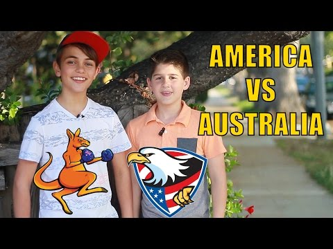 AMERICA VS AUSTRALIA Cultural Differences with Zach Hennessey and Matt Goldwyn