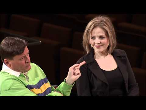 Renée Fleming, Thomas Hampson and Christian Thielemann in conversation with Sarah Willis