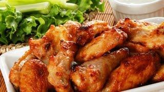 *Куриные крылышки в медовом соусе*