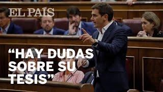 PEDRO SÁNCHEZ y ALBERT RIVERA chocan por la TESIS DOCTORAL del presidente