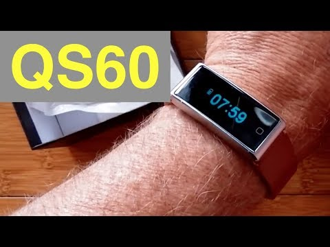 QS60 Health Wristband with ECG and  Breath Trainer: Unboxing & Review