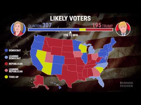 How drastically split different demographics are in 2016 election