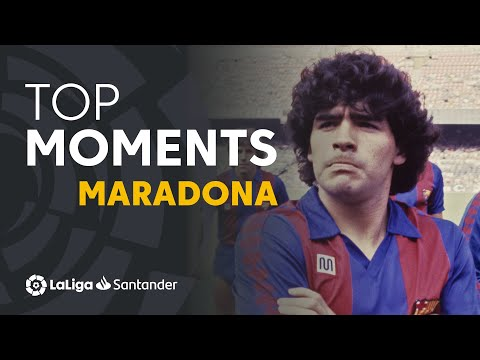 TOP MOMENTS Diego Maradona en LaLiga
