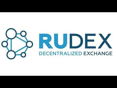 Создание собственного UIA токена на RuDEX/BitShares