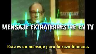 Mensaje Extraterrestre del futuro interrumpe señal de Televisión