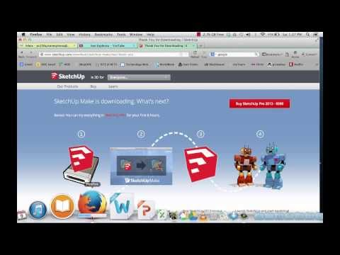 How to download google SketchUp to your computer