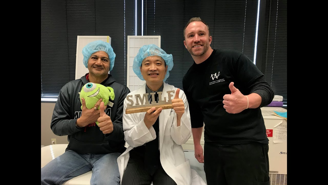Sanjay Patel 3D SMILE done by Dr Ming Wang, Harvard & MIT MD