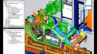 Teamcenter and Process Simulate (Siemens PLM)
