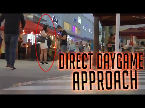 Natural DIRECT Daygame Approach(Infield) NO GIMMICKS MIAMI
