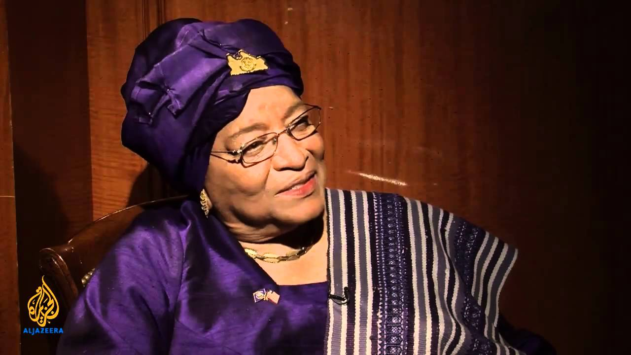 Liberia's Former President Ellen Johnson: 