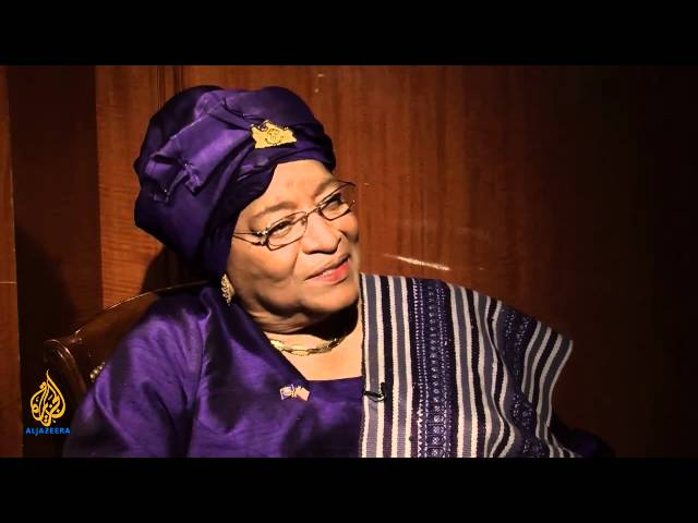 Liberia's Former President Ellen Johnson:   Africa's first elected female Head of State. She served as president of Liberia from 2006 to 2018. She was jointly awarded the Nobel Peace Prize in 2011 for her work in supporting democracy and women's rights.