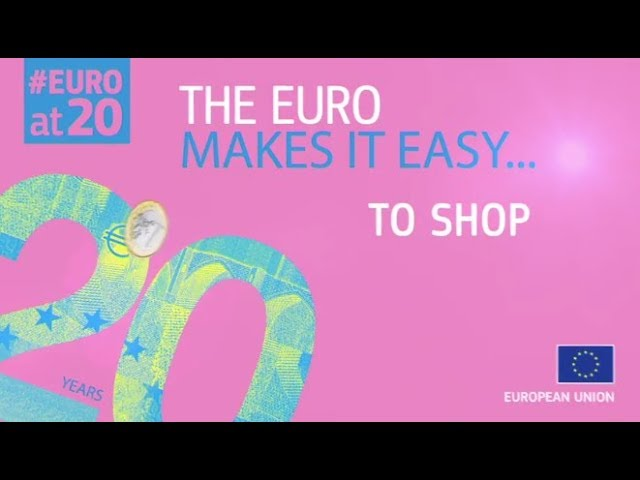 #EUROat20: The euro makes it easy to shop