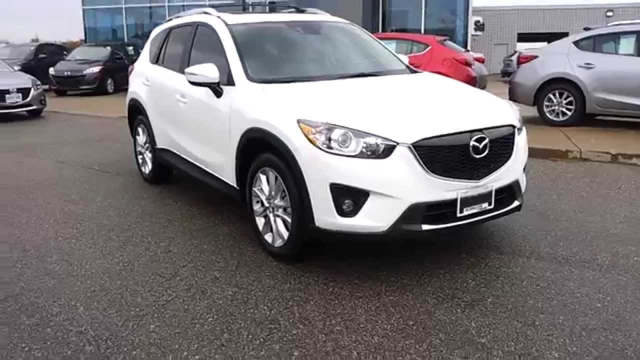 2015 Mazda Cx 5 White With Sand Interior Amp Accessories