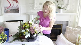 How to:  A Fresh Wild Flower Arrangement
