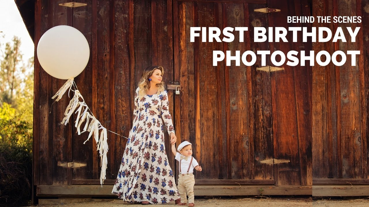 First birthday photoshoot with adorable boy cake smash for Photography ideas to do at home