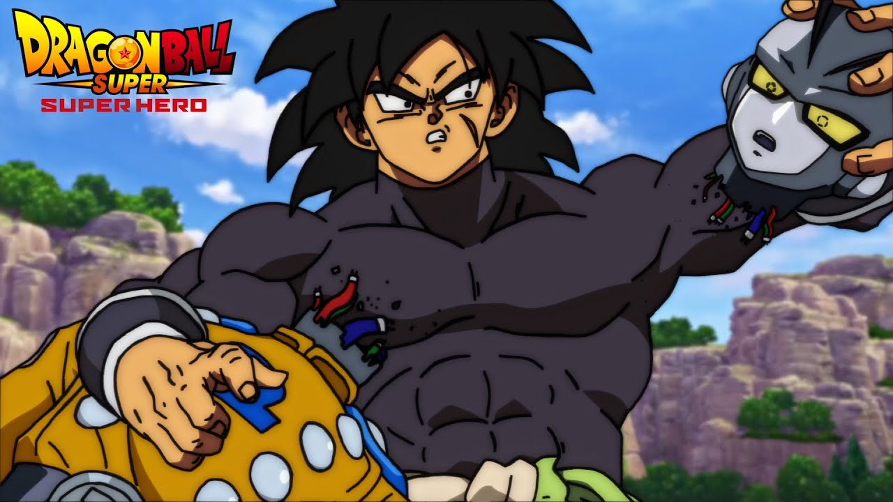 Download Broly is a MONSTER in Dragon Ball Super: Super Hero