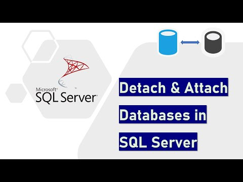 Detach and Attach a Database in SQL Server