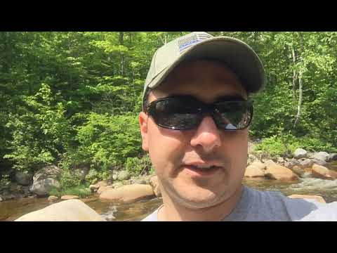 Swift river Father's Day mining trip