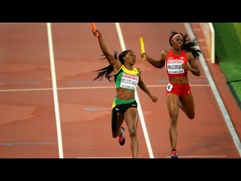 Beijing 4x100 metre & 4 x 400 metre relays finals