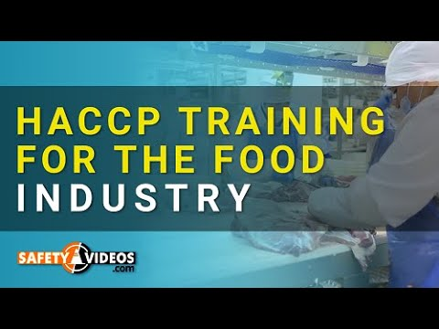 HACCP Training for the Food Industry from SafetyVideos.com