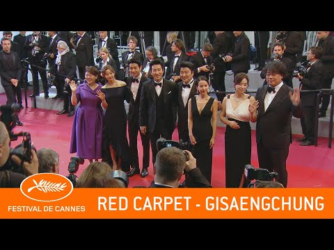 GISAENGCHUNG - Red Carpet - Cannes 2019 - EV