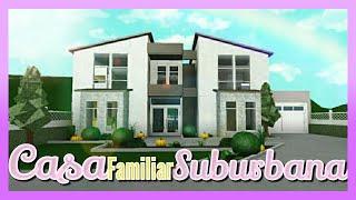 🏠 CASA Suburbana FAMILIAR /SPEED BUILDING 👷 ♀️ Bloxburg (ROBLOX) 👨 👧 👧 Family Home 🏡