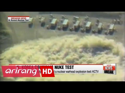 N. Korea confirms 5th nuclear test