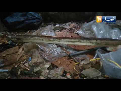 """سقوط أسقف عمارة بـ 3 شارع عمّار قامة """"روتشار"""" سابقا في العاصمة"""