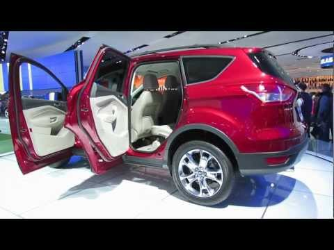 2014 Ford Escape SEL At NAIAS 2013 Detroit Auto Show